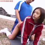 【鶴田かな】ブルマのマネージャをバックからハメまくるサッカー部員