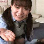 【Nana(宮地奈々)】関西弁のツインテール女子校生にフェラ抜きされて口内射精