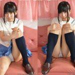 【喜屋武里奈】ポーニーテールの似合う美少女JKのセーラー服パンチラ