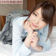 【Megumi(篠めぐみ)】パンティで素股のあとフェラ抜き口内射精