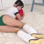 【西永彩奈】美少女の緑色ブルマに包まれた桃尻がえっちすぎる